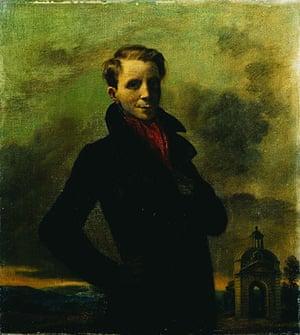 Rex Whistler: Self portrait, 1933 by Rex Whistler
