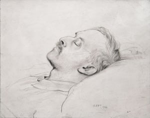 Rex Whistler: The Artists Father, Henry Whistler, After Death 1940 by Rex Whistler