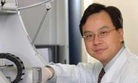 Dennis Lo, professor of chemical pathology at the Chinese University of Hong Kong
