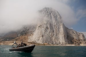 Gibraltar protests: Spanish Fishermen Stage Protest In Disputed Waters Near Artificial Reef