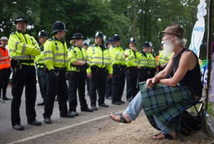 Fracking protests UK: Balcombe anti fracking protest in pictures