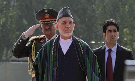 Afghanistan's president, Hamid Karzai.