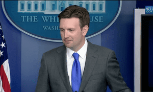Josh Earnest takes questions