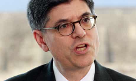 Jack Lew, US treasury secretary