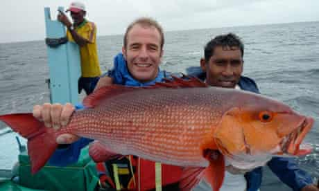 Robson Green on Extreme Fishing