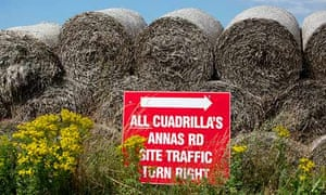 A proposed Cuadrilla site at Westby near Lytham on the Fylde coast in Lancashire