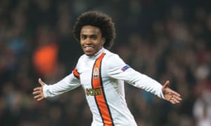 Is Willian flying to the UK today? Is he already here?