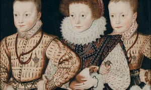 Elizabethan Portraits Offer Snapshot Of Fashion For Exotic