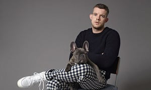 Russell Tovey and dog