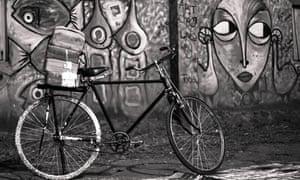 African photos - Uganda bike