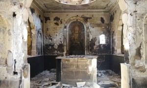 On 15 August, Muslim Brotherhood men attacked the Archangel Michael church in Kirdasah, Giza.