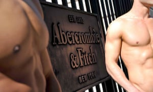 Abercrombie and Fitch store models