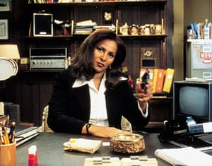 Elmore Leonard: Pam Grier in Jackie Brown, 1997, directed by Quentin Tarantino