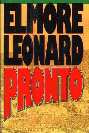 Elmore Leonard: Pronto, 1993 which formed the basis to the hit TV series Justified