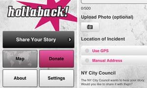 Hollaback! app