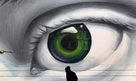 Eye graffiti