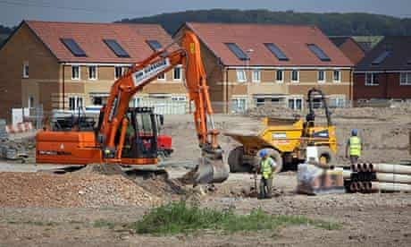 Newly built homes in Somerset