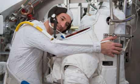 Luca Parmitano astronaut