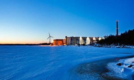 Google's data centre in Hamina, Finland