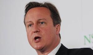 David Cameron fracking