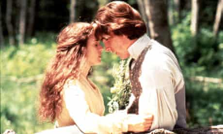 Cue spittle: Winona Ryder and Christian Bale in Little Women