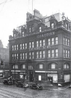 Guardian's Cross Street office 1939