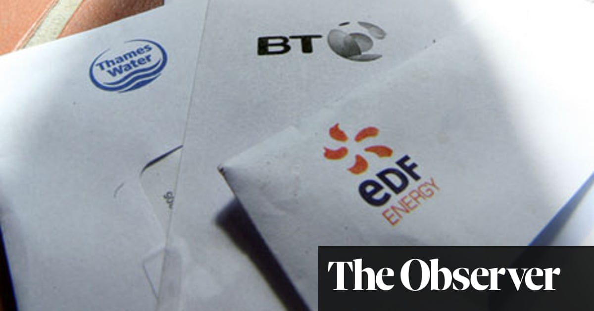 life is on hold as we try to pay our edf energy bill