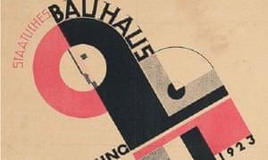 Joost Schmidt Bauhaus poster