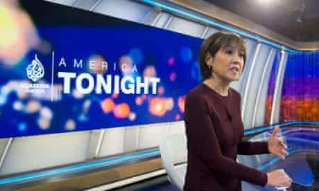 Joie Chen, host of the new Al Jazeera America nightly news show