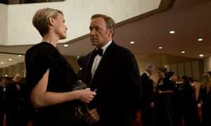 Robin Wright and Kevin Spacey in House of Cards