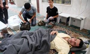Alleged survivor, Damascus attack 21 August