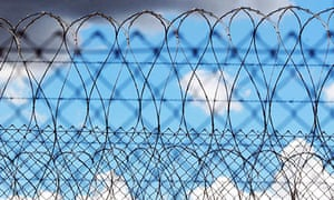 razor wire prison jail