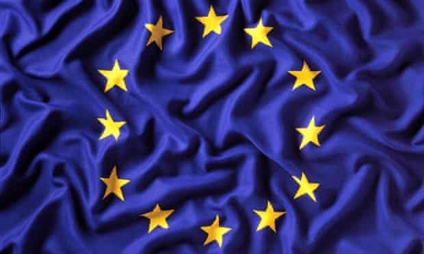 Eurozone flag.