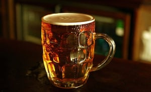 Water for consumer goods: Pint of beer