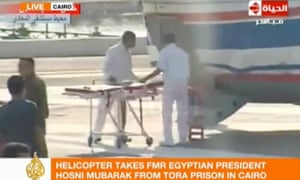 Mubarak release from jail, Egypt