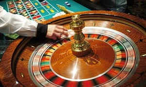 The roulette wheel spins in Atlantic City