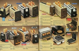 Toasters in the 1983 Argos catalogue