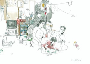 TB in Burma: MSF TB Symposium - George Butler artwork
