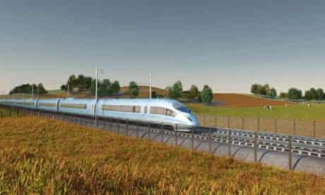 HS2 is intended to allow trains to run at 250 mph (400km/h) from London to Birmingham from 2026