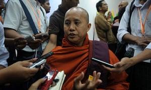 The hardline Buddhist monk Wirathu.