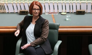 Julia Gillard is not standing for re-election.
