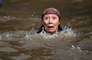 Weekend in pictures: Edinburgh, UK: Participents take part in the Tough Mudder endurance event a