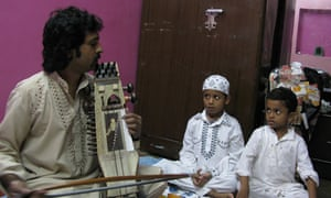 Sarangi player Ghulam Ali