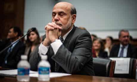 US Federal Reserve chairman, Ben Bernanke