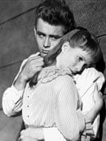 Julie Harris with James Dean