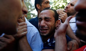 West Bank relatives mourn