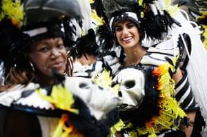 Notting Hill Carnival: The Paraiso Samba troupe