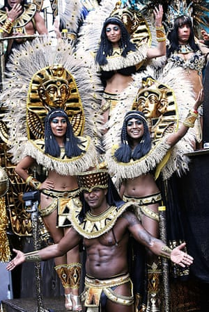 Notting Hill Carnival: A Cleopatra and Egyptian themed parade