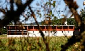 Swiss asylum seeker centre in Bremgarten