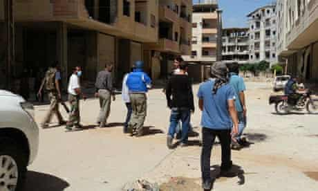 UN chemical weapons experts Syria